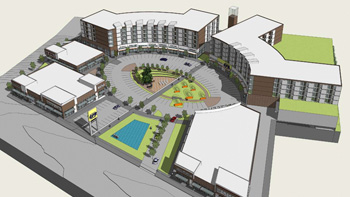Edmonds Green Rendering